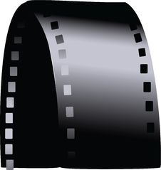 Vector Filmstrip Stock Photos