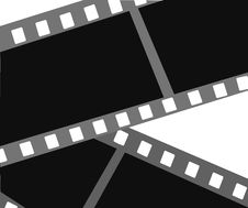 Free Vector Filmstrip Royalty Free Stock Photo - 4138865