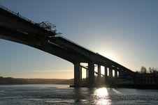 Free A New Bridge Stock Photo - 4139250
