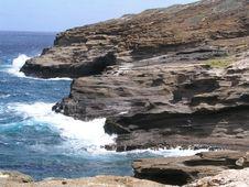 Free Southern Coast Of Oahu Stock Photo - 4139600