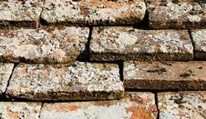 Roof Tiles In A Row Royalty Free Stock Image