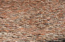 Free Roof Tiles Royalty Free Stock Image - 4139876