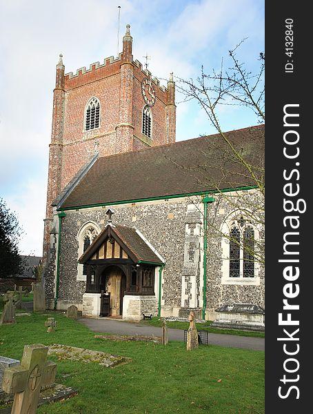 English Village Church