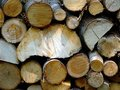 Free Fire Wood Close Up Royalty Free Stock Image - 4140086