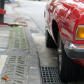 Free Curbside Parking Royalty Free Stock Photography - 4142367