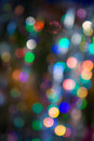 Free Pattern Of Colorful Decoration Lights Stock Photography - 4143202