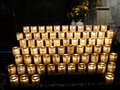 Free Candle Offerings, Notre Dame, Paris Royalty Free Stock Images - 4145399