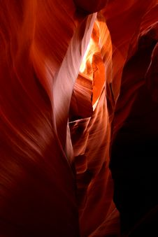 Free Antelope Canyon Royalty Free Stock Photos - 4140588