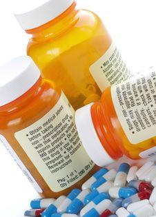 Free Medication Warning Stock Photography - 4140832