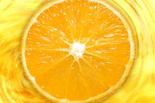 Free Slice Orange Juice Stock Photo - 4141330