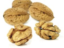 Free Walnuts Royalty Free Stock Images - 4141579
