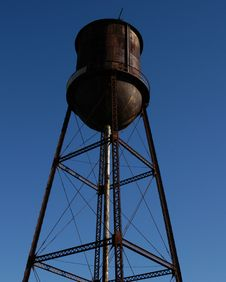 Free Old Water Tower Royalty Free Stock Image - 4141636