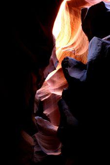 Free Antelope Canyon Royalty Free Stock Photos - 4141728