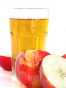 Free Apple And Glass Stock Images - 4141824