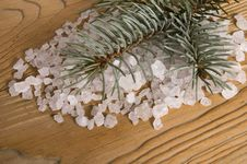 Free Pine Bath Items. Alternative Medicine Royalty Free Stock Photography - 4142127