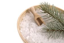Free Pine Bath Items. Alternative Medicine Stock Photo - 4142130
