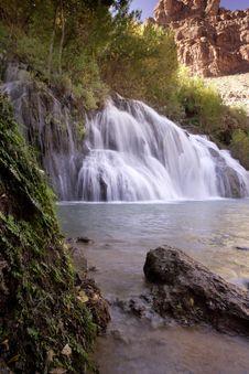 Free Navaho Falls Stock Images - 4142564