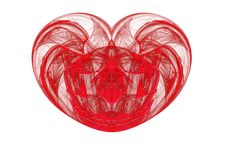 Another Red Heart Stock Photography