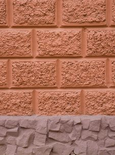 Texture Of Old Classic Building Wall Royalty Free Stock Photography