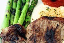 Free Stake Potato And Vegetables Royalty Free Stock Photo - 4144395