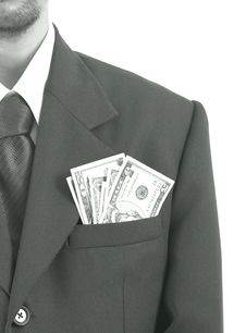 Free Suit Pocket Stock Photography - 4144672
