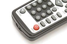 Free TV Remote Control Macro Royalty Free Stock Photos - 4145028