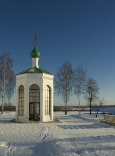Murom. Spasskiy Monastery. Chapel Stock Photo
