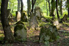 Free Old Jewish Cemetery Stock Image - 4145611
