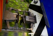 Detail Of A Train Cart Stock Images