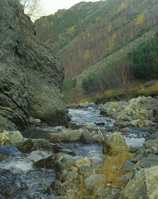 Free The Mountain Rivulet Royalty Free Stock Photo - 4145905