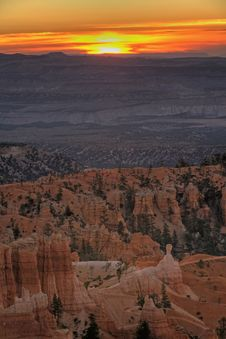 Free Dawn On Bryce Canyon Stock Photography - 4146552