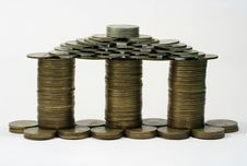 Free Coins House Stock Photo - 4146560