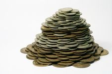 Free Pile Of Coins Royalty Free Stock Photos - 4146598