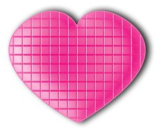 Free Pink Chocolate Heart Royalty Free Stock Photo - 4147295