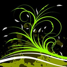 Free Spring Vector Background Stock Photography - 4147412