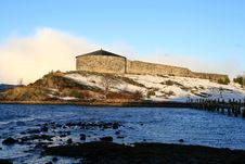 Free Steinvikholm Fortress Royalty Free Stock Photos - 4147548