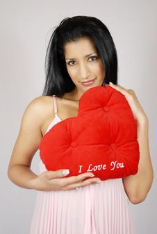 Free Valentine Heart Royalty Free Stock Image - 4147906