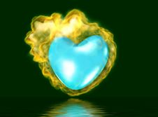 Free 3D Burning Heart Stock Photos - 4148123