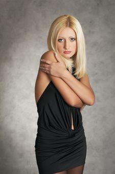 Free Glamor Girl Posing Stock Photography - 4148272