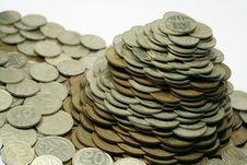 Free Pile Of Coins Royalty Free Stock Photo - 4148575