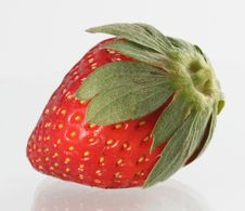 Free Single Strawberry Stock Images - 4148914