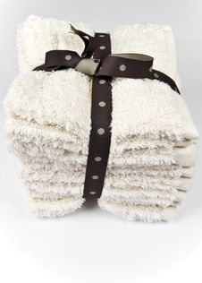 Free Washcloth Set Royalty Free Stock Photos - 4149418