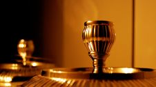 Free Vintage Candlestick Holder Stock Image - 4149491