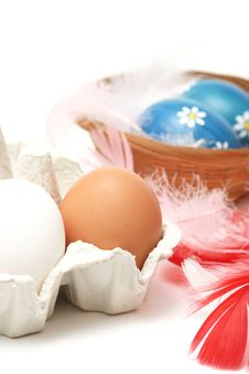 Free Easter Eggs Royalty Free Stock Image - 4149496