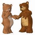 Free Bears In Love Stock Photos - 4157973