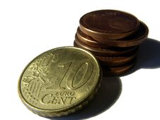 Free Euro Cent Coins Royalty Free Stock Images - 4150059