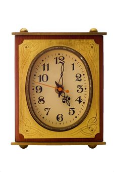 Free Old-fashioned Clock Royalty Free Stock Image - 4150326