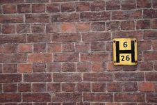Free Brick Wall Royalty Free Stock Image - 4150606