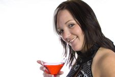 Free Martini Girl Stock Photos - 4150853