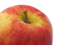 Ripe Apple Fragment Stock Image